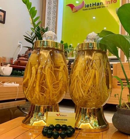 Rượu Sâm Hàn Quốc 3L
