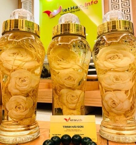 Rượu Hoa Sâm MINI 1,8L